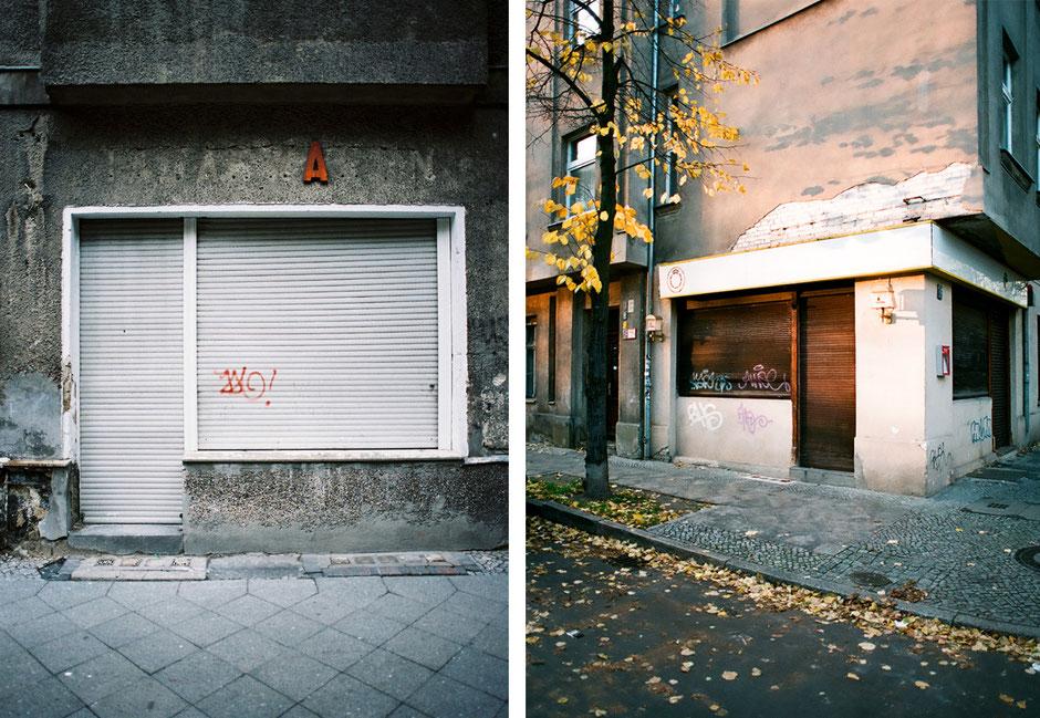 Berlin Neukölln Juliusstrasse Ecke Bendastrasse - ehemaliger Tabakwaren Laden Ladengeschäft geschlossen und verwahrlost