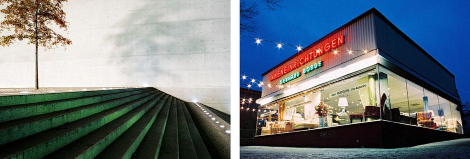 Laubacher Strasse Inneneinrichtung Borde Nachtaufnahe - Reichstagsufer