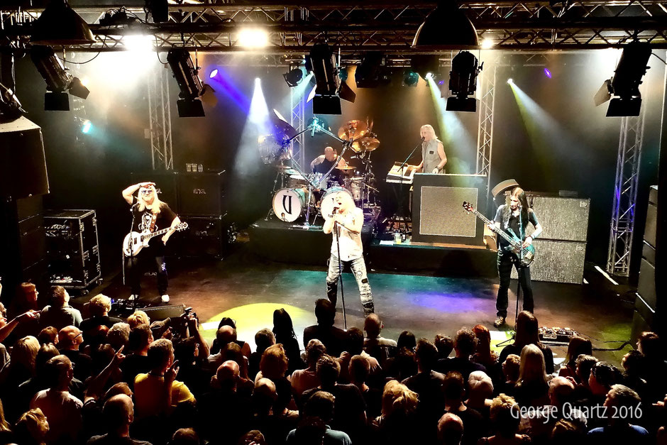 Uriah Heep 2016 live on stage in Uden, Netherlands