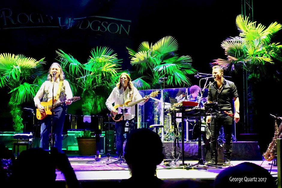 Roger Hodgson (ex-Supertramp) 2017 live on stage