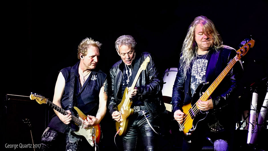 "Don Felder (ex-Eagles) with ""Rock meets Classic"" 2017 live on stage in Berlin"