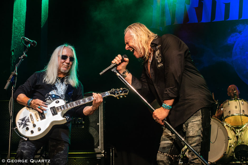 "Uriah Heep on their ""Living The Dream"" world tour in Hannover"