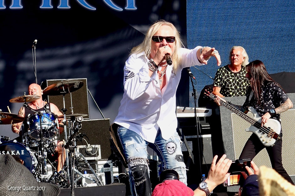 "Bernie Shaw of Uriah Heep 2017 live on stage at the ""Lieder am See"" festival"