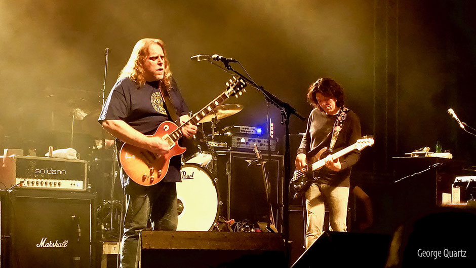 Warren Haynes of Gov't Mule 2016 live on stage in Berlin