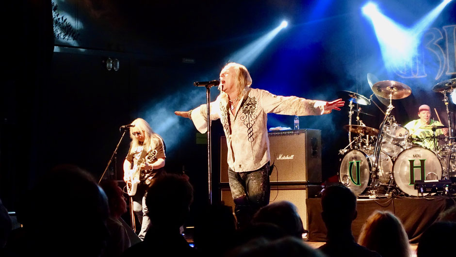"Uriah Heep's ""Rock the House Tour), Mick Box, Bernie Shaw and Russell Gilbrook"