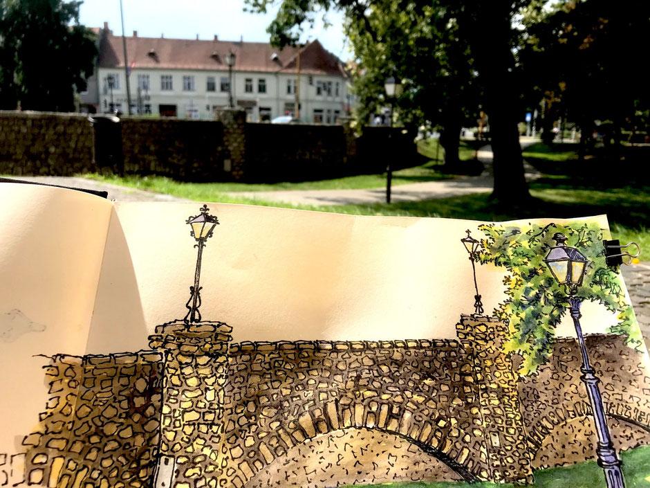 Birgit Lippeck Brücke in Kopuvar2