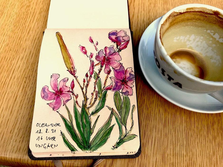 Birgit Lippeck Oleander in Ungarn