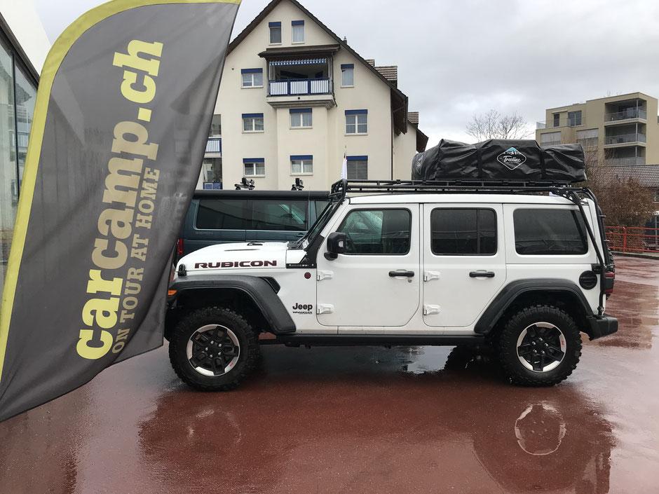 Treeline Tamarack 4 Season Dachzelt  auf Jeep Wrangler Rubicon