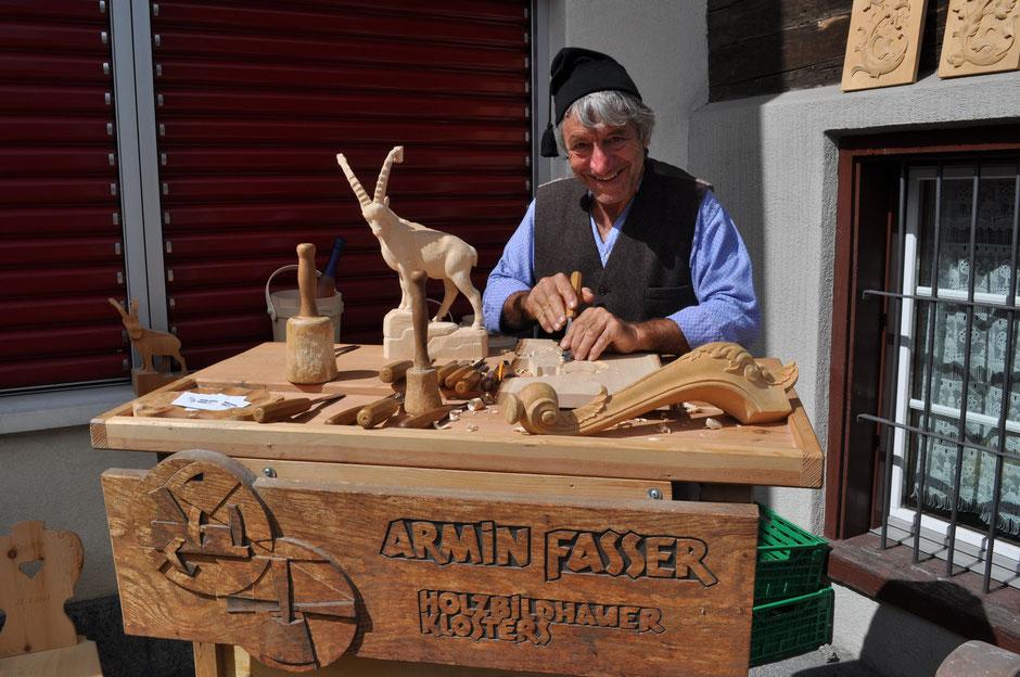 Armin Fasser ist dieses Jahr auch dabei.          Foto von Corinne Gut Klucker (CGK)