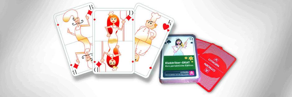 Citroen Kartenspiel