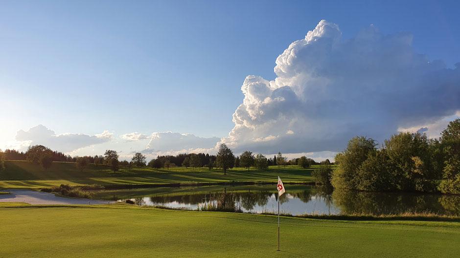 Der ökologische Golfplatz Bergkramerhof: So ein Traum sollte nie zu Ende gehen...