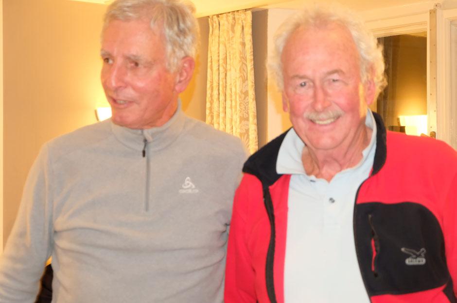 Die Sieger: Dr.Eckhard Wohlgemuth und Dr. Karl Eichinger