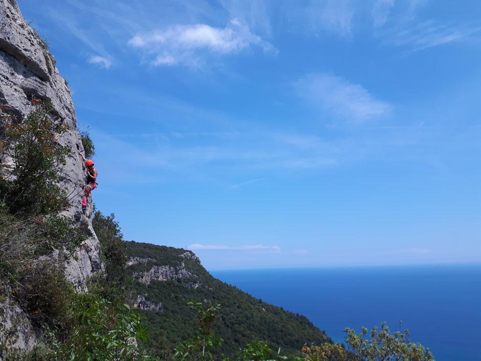 Vue sur la Mer Ligure