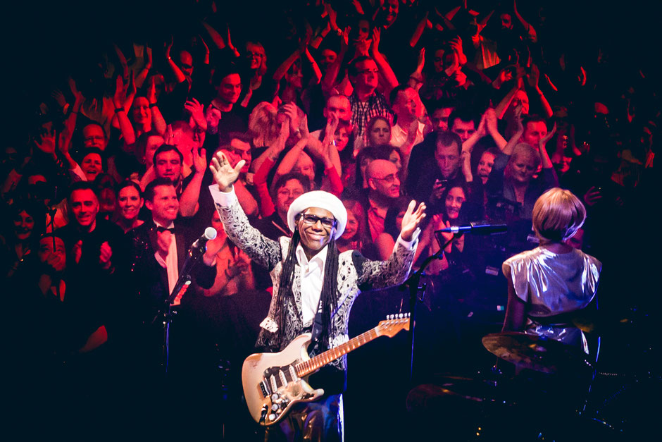 Nile Rodgers & Chic at BBC New Year's Eve concert