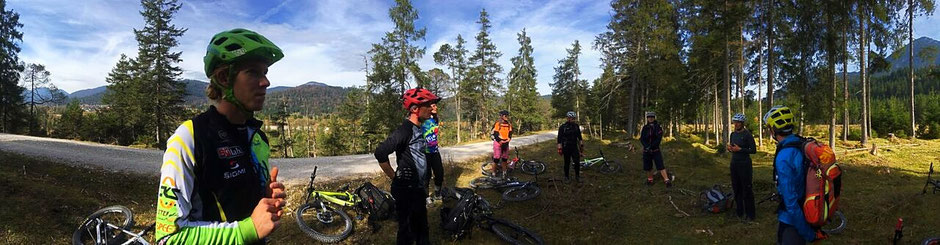 Outdoor 1. Hilfe für Mountainbiker der DIMB mit Dani Hornsteiner