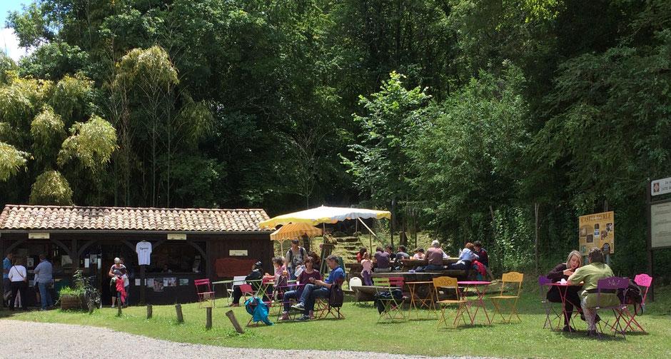 Restauration, snack, buvette, glace, hamburgers, Lascaux, Castel-Merle, Sergeac, Dordogne, Vallée Vézère