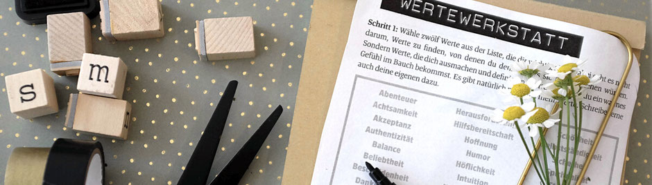 Werte Werkstatt Kreativ Workshop in Hamburg. Inhalte, Kosten und Termine.
