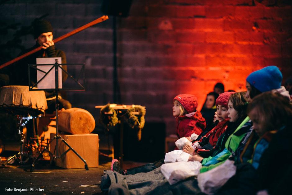 Ötzis Traum/Figurentheater mit Musik zur Liechtrzeit in Passeier 2017