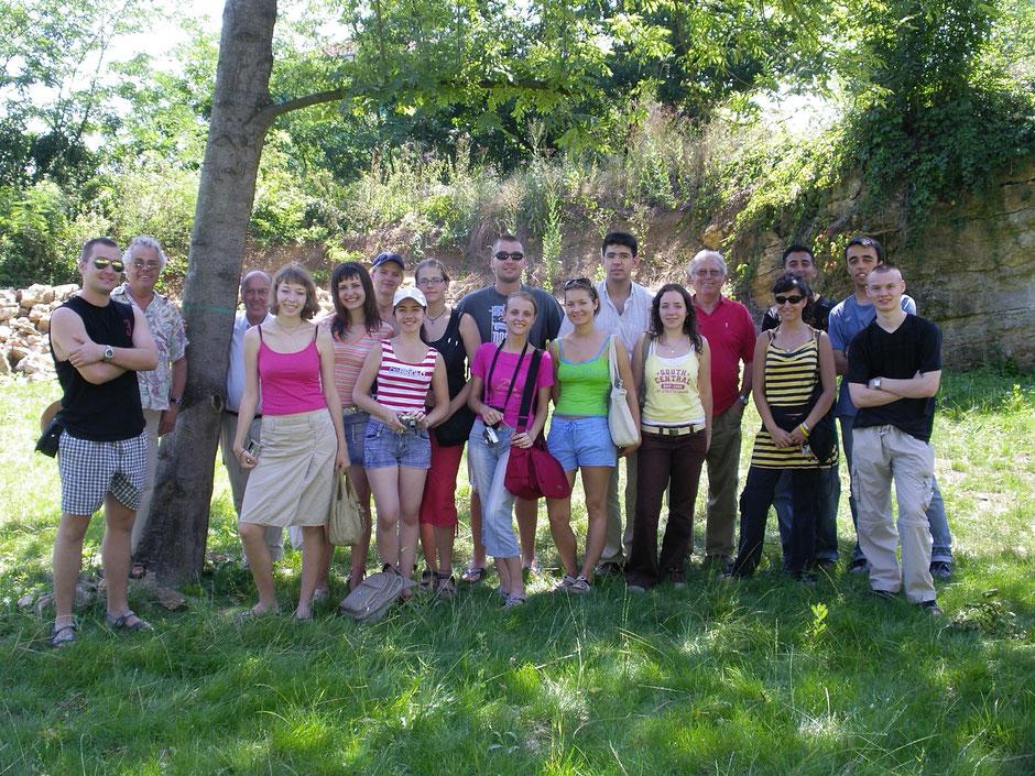 Celle de 2006, solidement dirigée par Florentina, arrivée de BUZAU, en Roumanie.