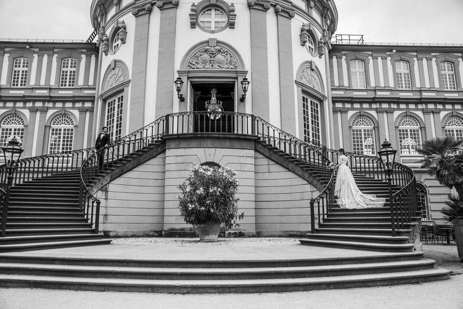 Hochzeit Schloß Biebrich, Wiesbaden, Mainz, Rheinhessen, Rhein-Main