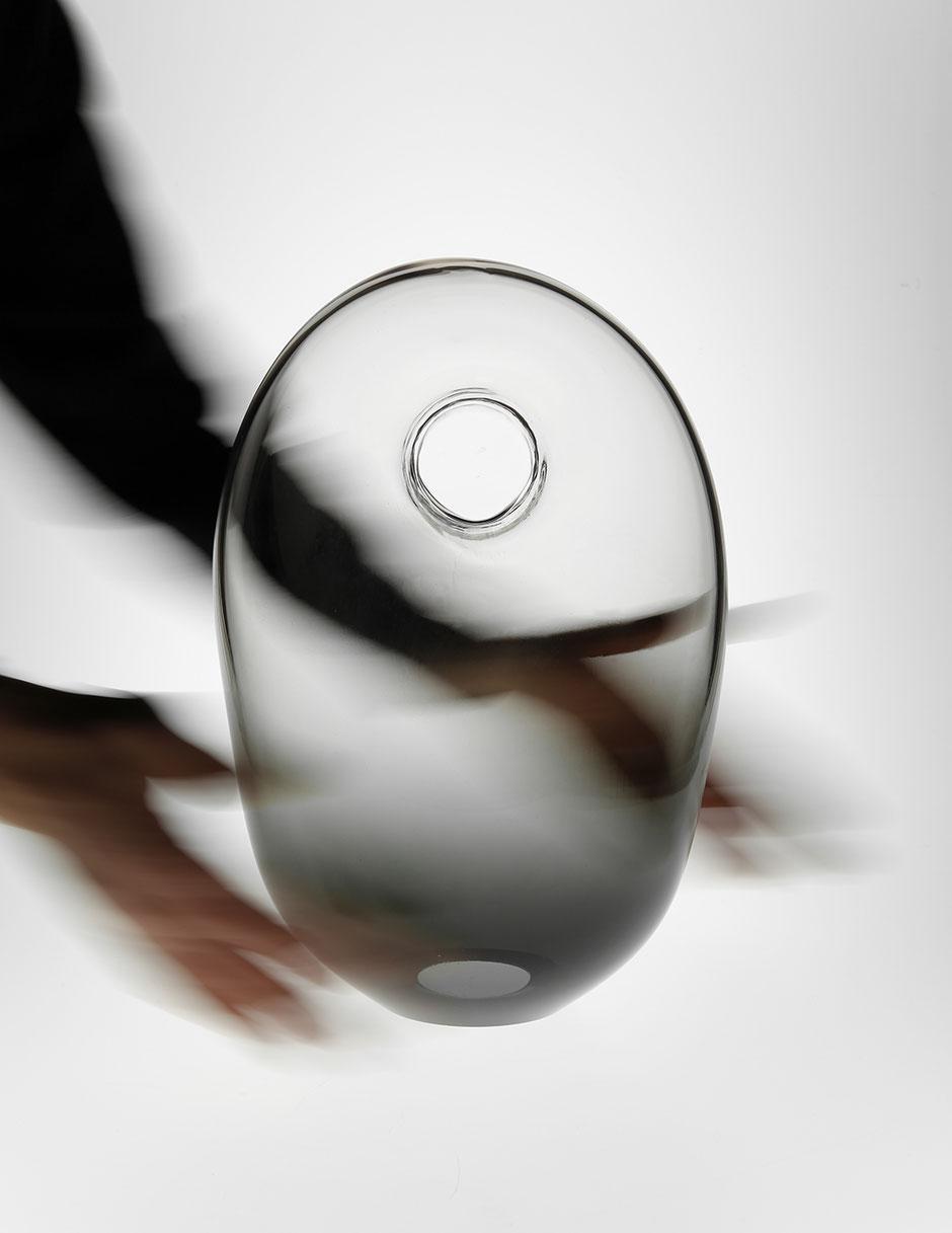 KOR black table luminaire glass by Martin Tony Häußler_003