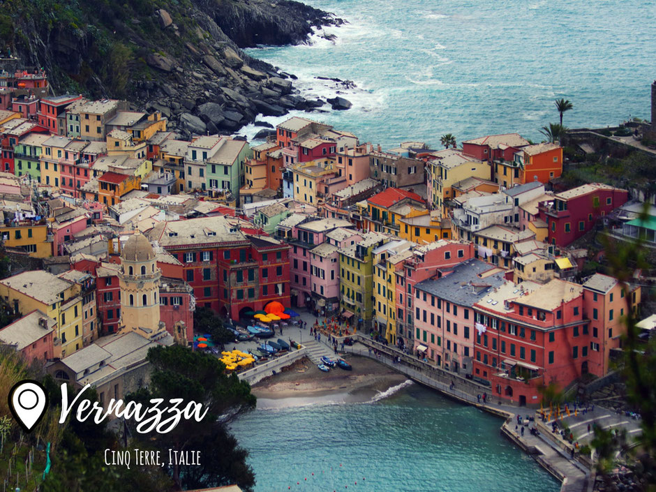 Vernazza, CINQ TERRE (ITALIE) www.missaventure.com blog voyage d'aventures nature et photos