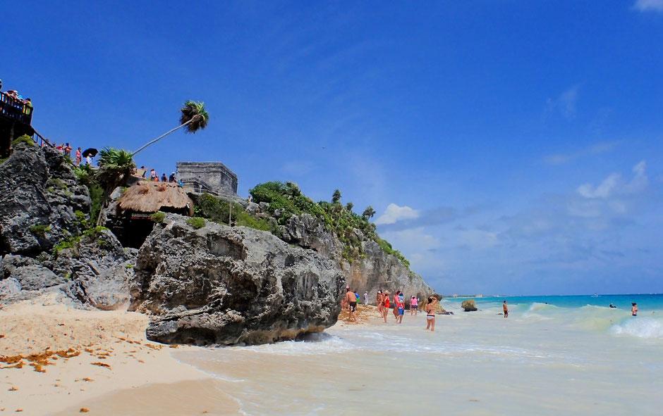 Plage Tulum. Yucatan.MEXIQUE. missaventure blog