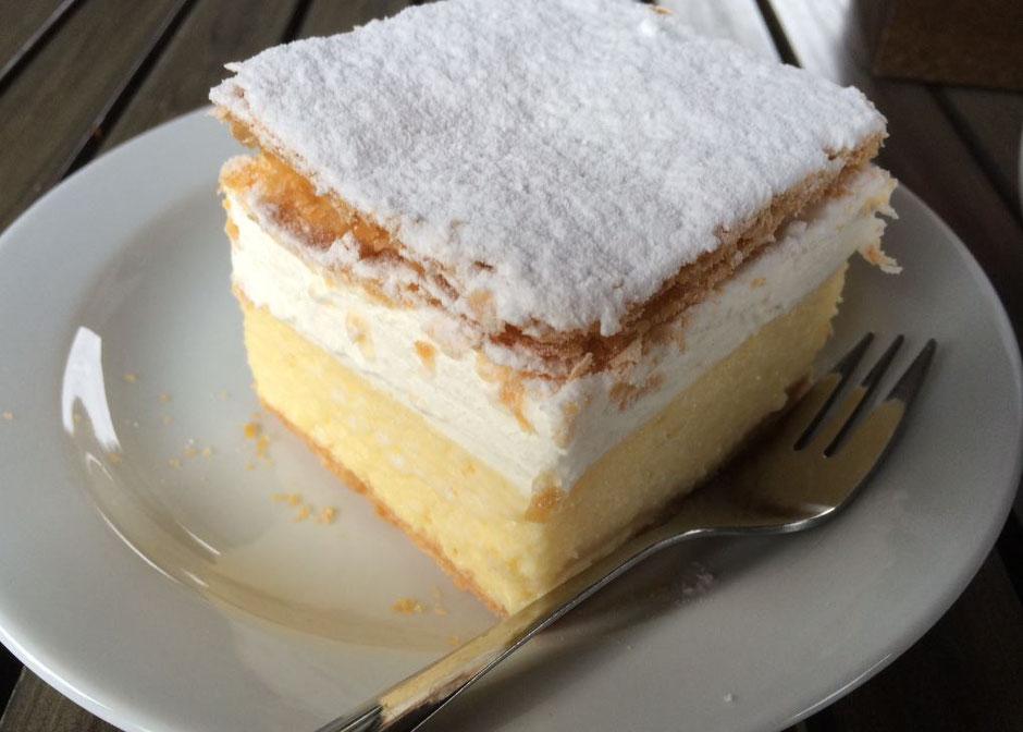 le fameux dessert de Bled le Kremsnita, Miammmm!!.