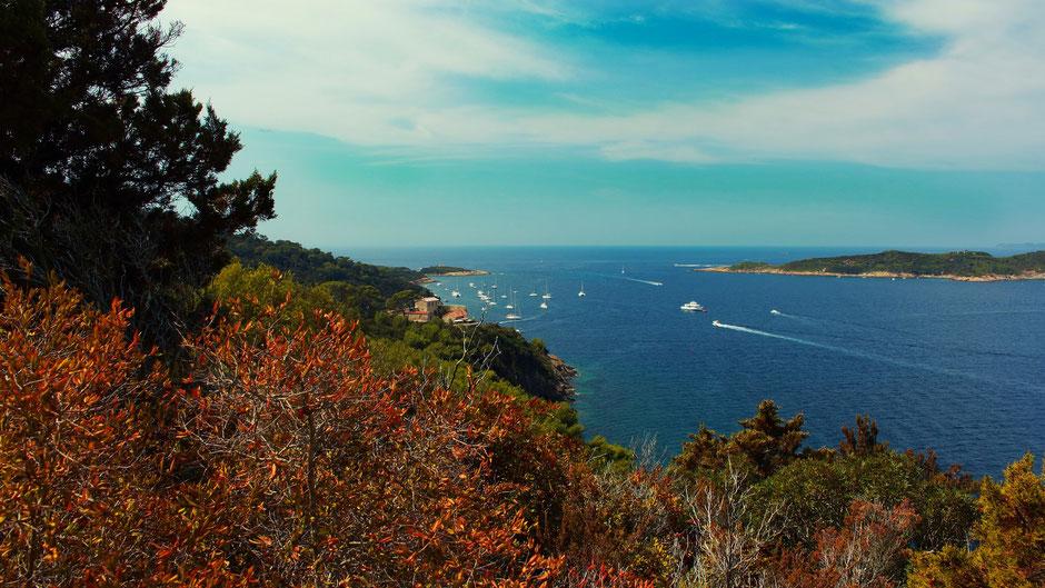 sentier plage de la palud, Port Cros, Hyeres (FRANCE) missaventure blog