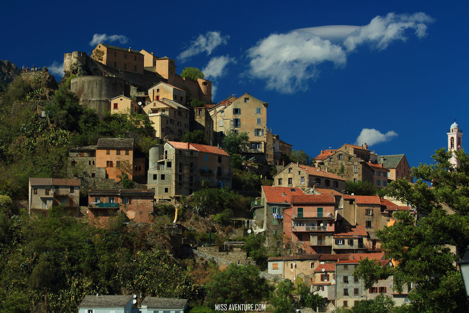 Corte, CORSE. www.missaventure.com blog voyage d'aventure nature et photos. road trip corse du Nord au Sud.