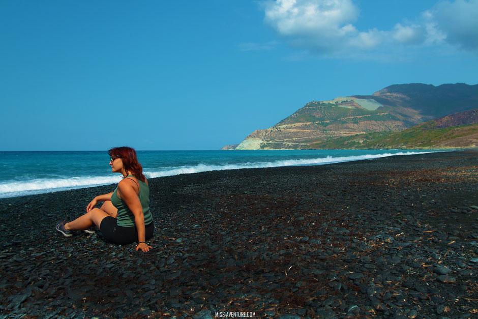 Nonza. CORSE. Road trip Corse du Nord au Sud; www.missaventure.com. Blog aventures, nature et photos