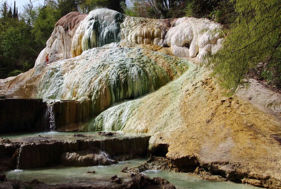 Road trip en Toscane, Bagni San Filippo  (ITALIE)/ www.missaventure.com. blog voyage d'aventures, nature et photos