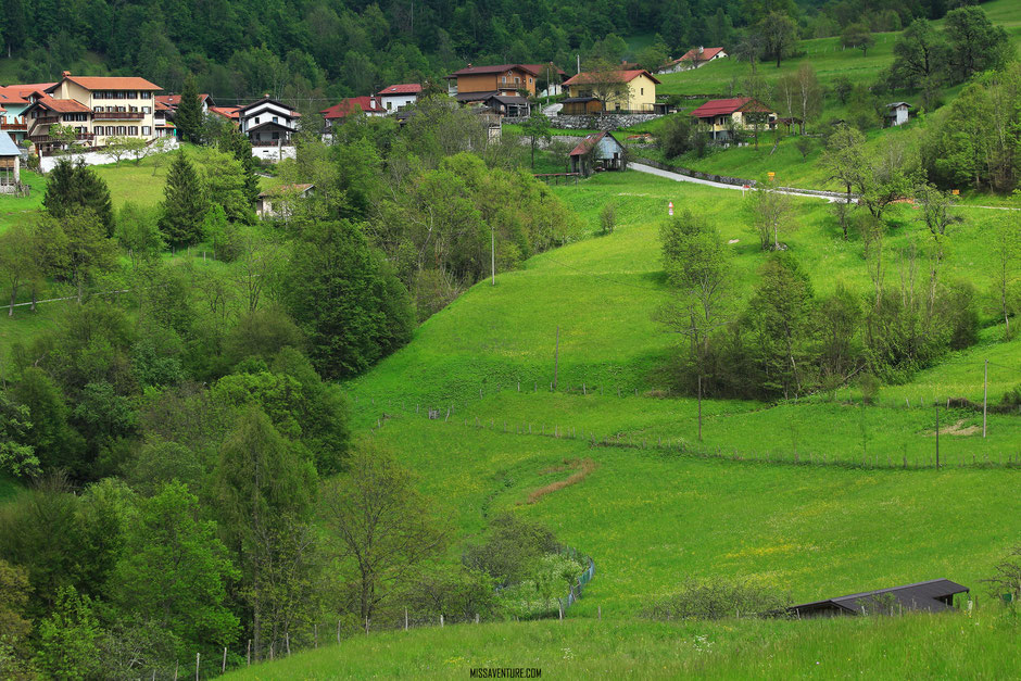 Road trip en Slovenie. le village de Dreznica. www.missaventure.com blog voyage d'aventures nature et photos
