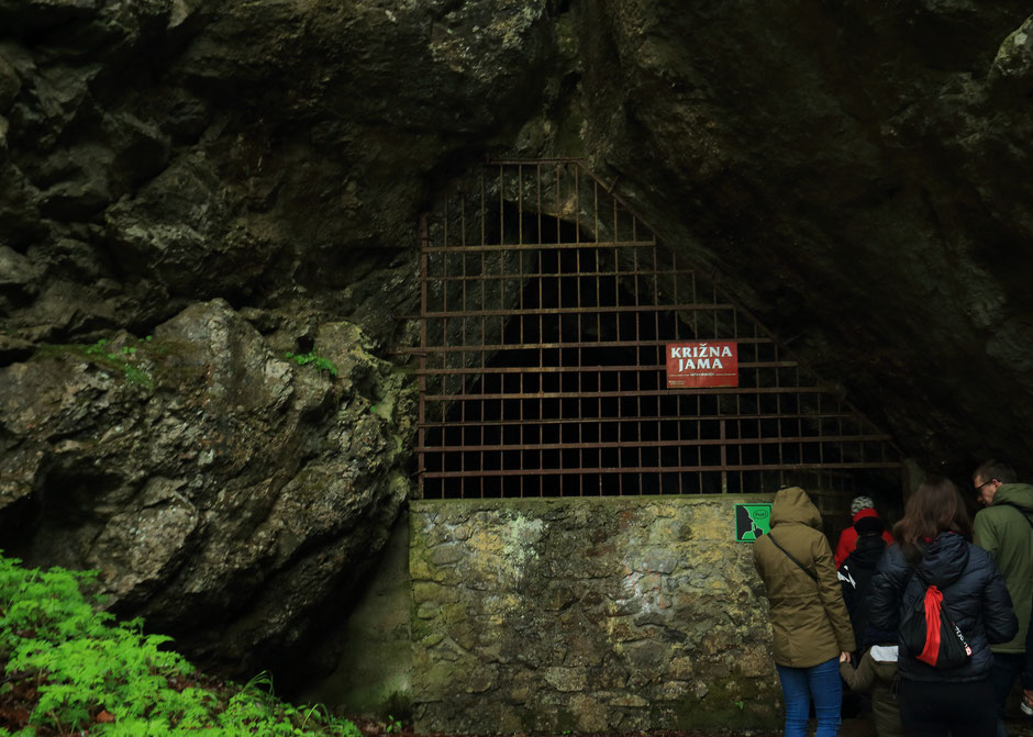 Hors des sentiers battus en Slovénie, La grotte de Krizna Jama. www.missaventure.com blog voyage d'aventures, nature et photos. Road trip en Slovenie