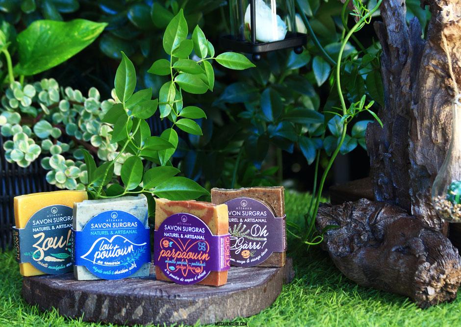 Oliosco, Les savons vegan, naturels et made in provence. beauté green. www.missaventure.com blog voyage d'aventure nature et photo