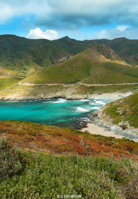 TOP 9 plus belles plages corses. ANSE ALISO. www.missaventure.com. blog voyage d'aventures nature et photos. Road Trip Corse du Nord au Sud.
