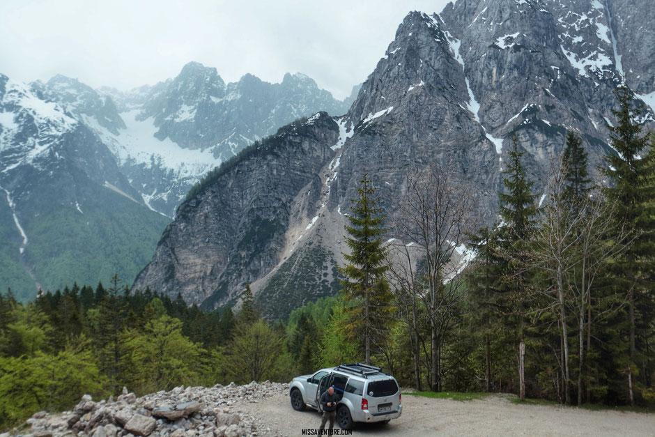 Col du Vrsic pass, ROAD TRIP EN SLOVENIE. www.missaventure.com blog voyage d'aventures nature et photos