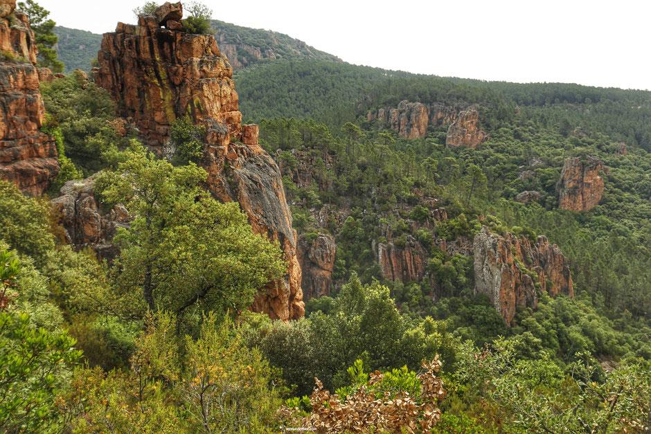 les gorges du Blavet,  (FRANCE). www.missaventure.com blog d'aventures, nature et reflexions green.