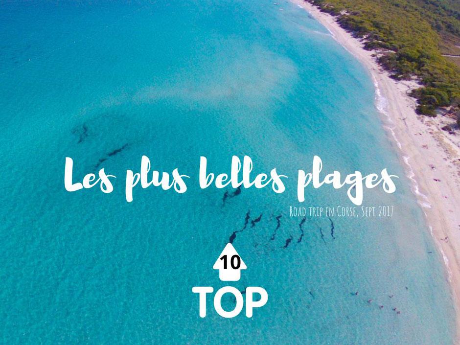 top 10 des plus belles plages Corses, CORSE. www.missaventure.com blog voyage d'aventures nature et photos. Road Trip Corse du Nord au Sud.