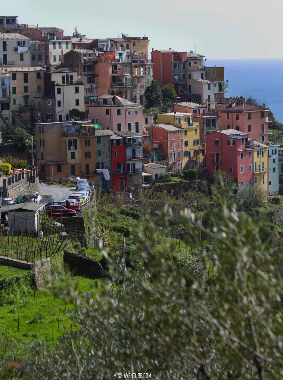 Corniglia, Cinq Terre  (ITALIE) www.missaventure.com blog voyage d'aventures nature et photos