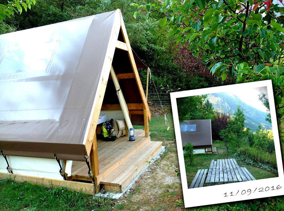 Camping calme et nature, Castellane, VERDON, (FRANCE) missaventure blog