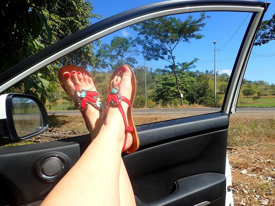 Sur la route Manuel Antonio, Road trip COSTA RICA. missaventure blog