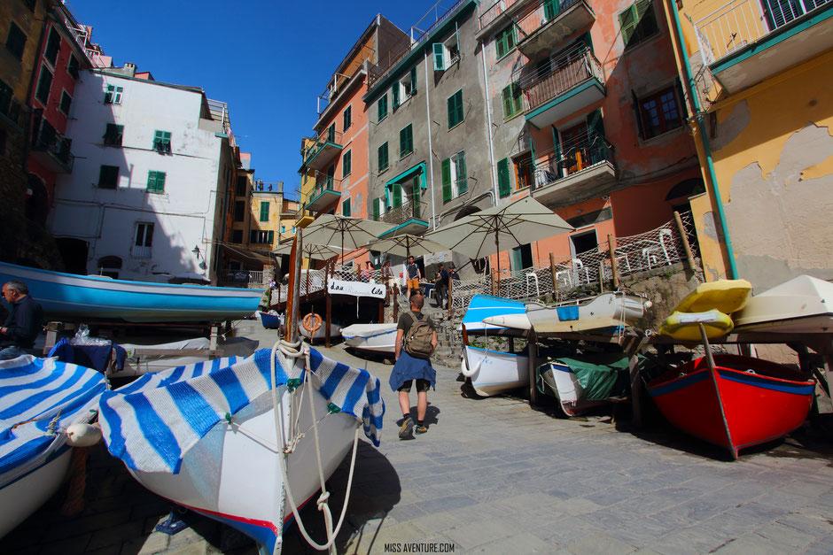 Riomagiorre, CINQ TERRE (ITALIE) www.missaventure.com blog voyage d'Aventures nature et photos