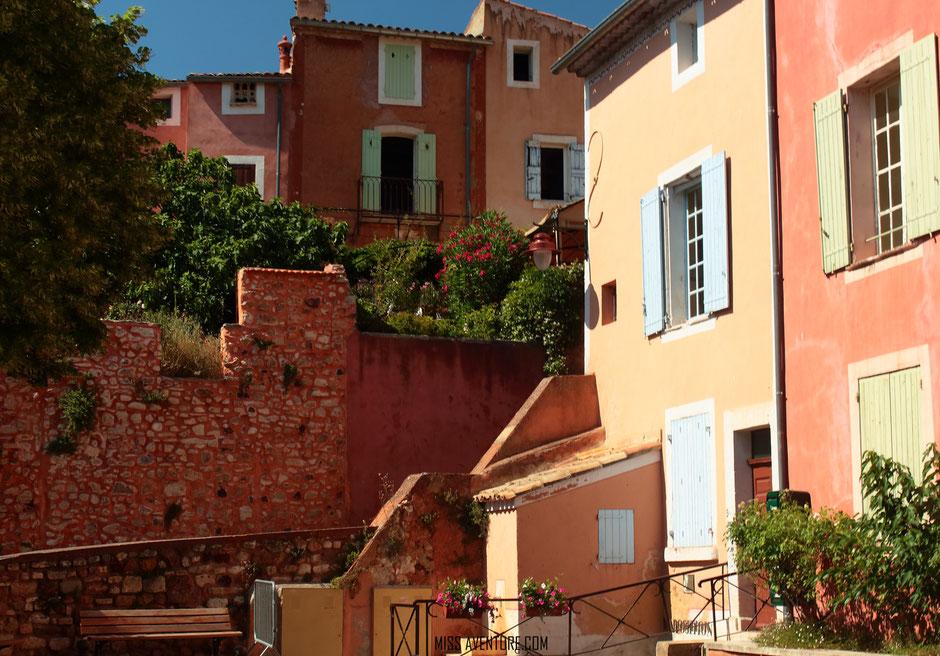 Roussillon, VAUCLUSE. www.missaventure.com. blog aventures, nature et photos