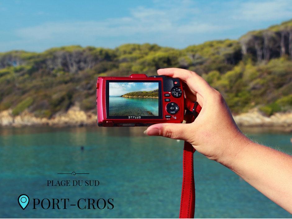 plage du sud, Port Cros. FRANCE (Hyeres) MISSAVENTURE BLOG