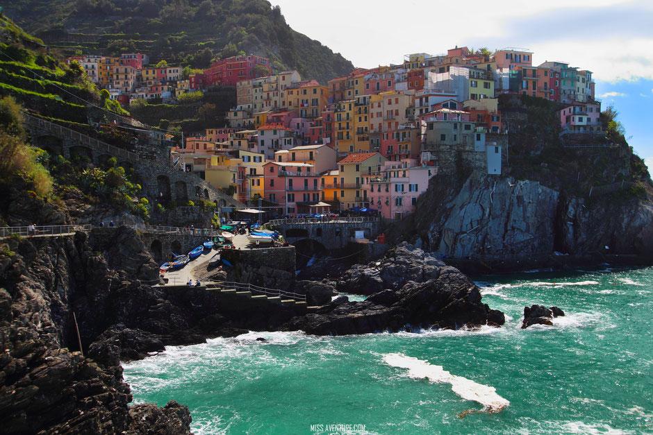 Manarola, CINQ TERRE (ITALIE) www.missaventure.com blog voyage d'Aventures nature et photos