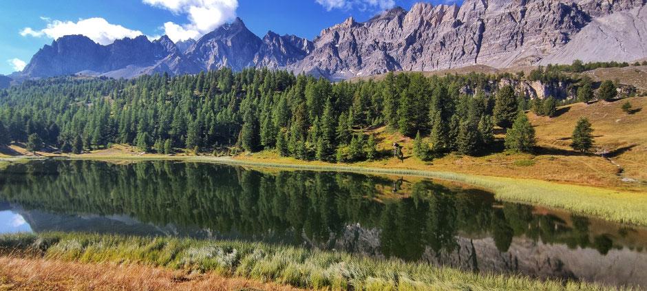 Randonnée au Lac Miroir. ROAD TRIP EN 4X4, SUR LA ROUTE DES GRANDES ALPES  (FRANCE).   www.missaventure.com blog d'aventures, nature et reflexions green.