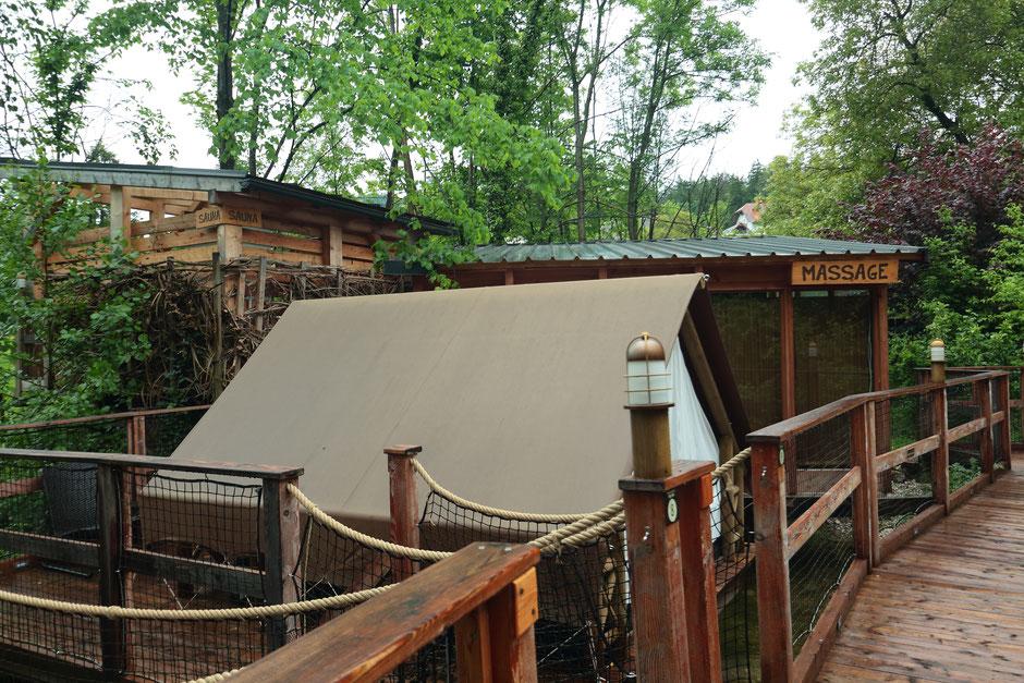 Logement insolite Slovénie. Garden Village Bled. www.missaventure.com. Road trip de 11 jours en Slovénie.