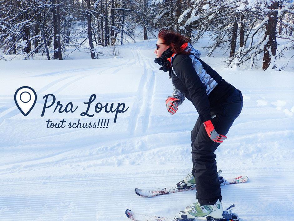 Pra Loup, week end sport et nature, SUR LES PISTES. www.missaventure.com blog voyage d'aventures nature et photos.