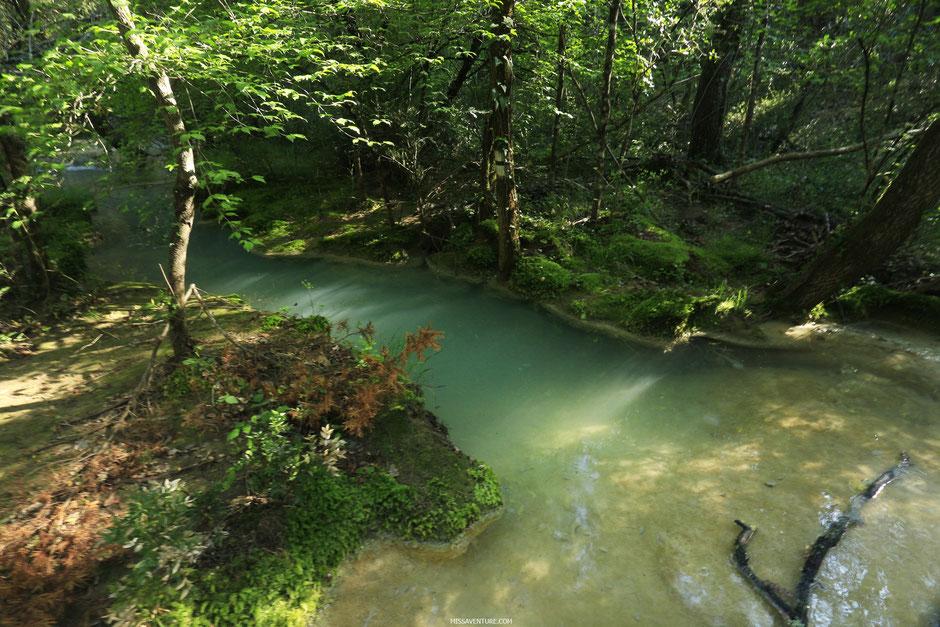 Les sources de l'Huveaune. www.missaventure.com blog d'aventures, nature et reflexions green.